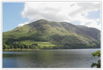 buttermere lake in Lake district