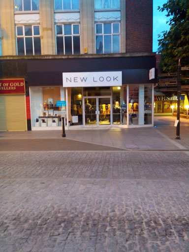 New look shop in Brentwood high street