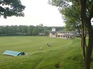 Cricket ground in Milton Keynes in Campbell Park