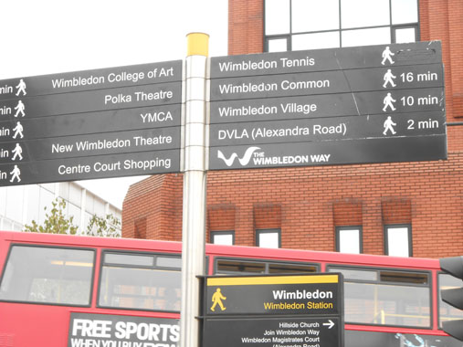 Directions to Wimbledon Tennis Courts from Train Station
