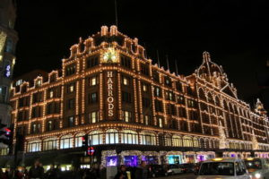 Harrods London Window Shopping