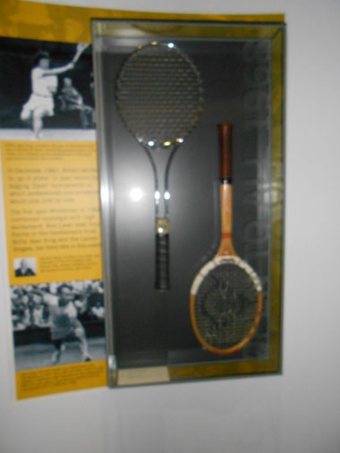 Old and new Racquets
