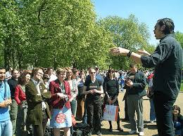 Speakers Corner in London