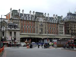 Victoria Station in London