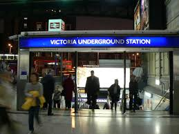 Victoria Station London Underground