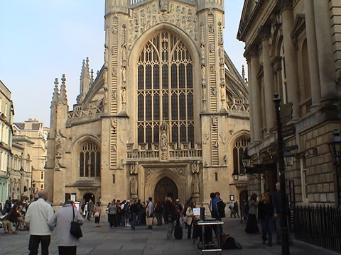 Roman Bath Abbey