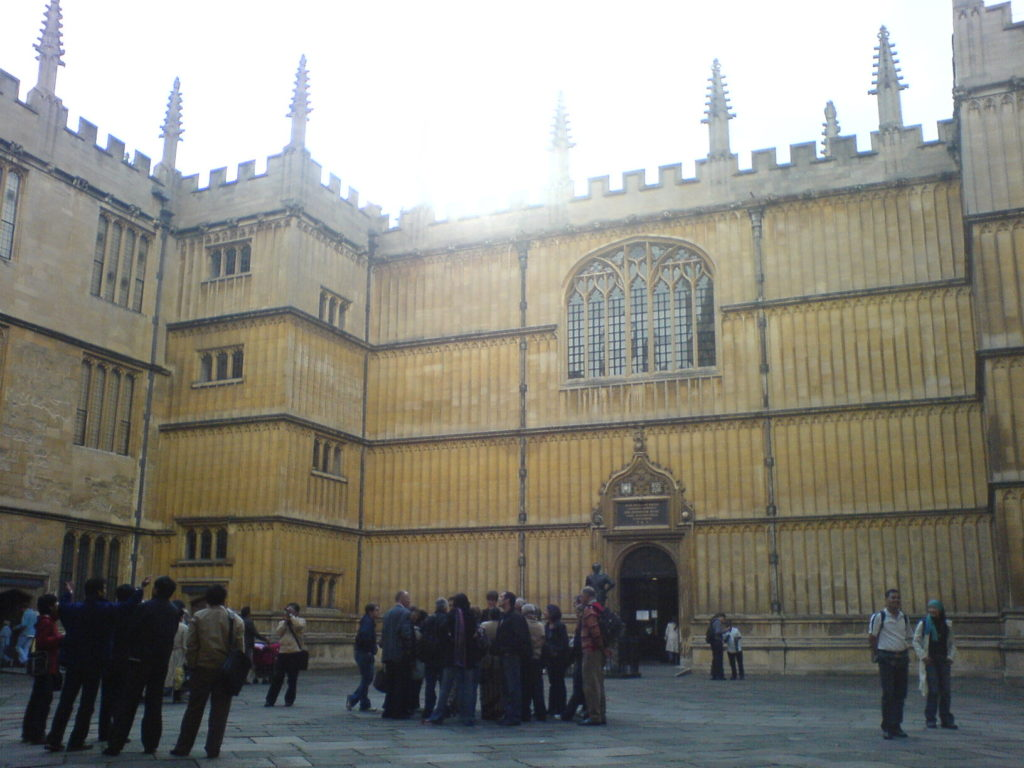 Oxford City Walking Tour Bodleian Library