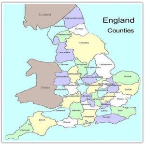 Map Of England And Wales.The Detailed Map Of England And Scotland Wales United Kingdom