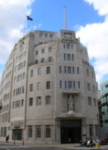 Broadcasting House in London