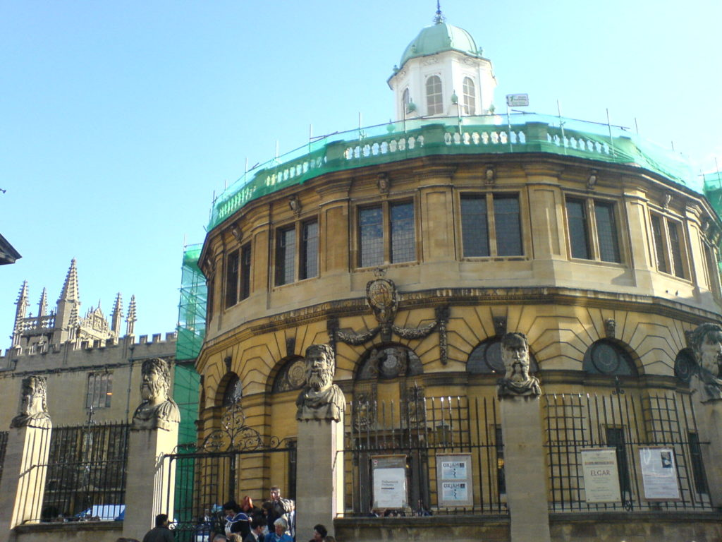Oxford Sheldonian Theater