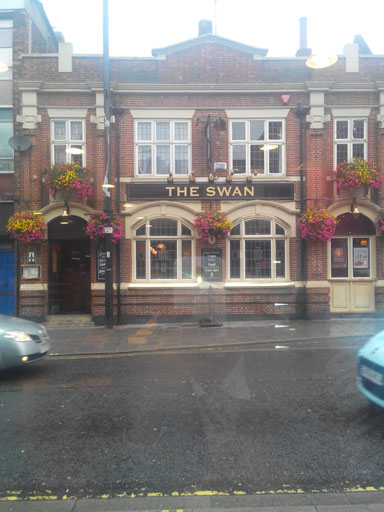 The Swan pub in Brentwood high street